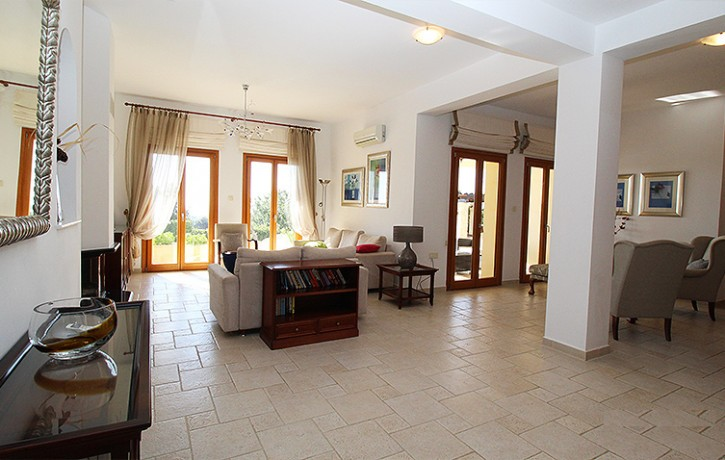 12-AH226V ~ 6 BEDROOM LUXURY DETACHED VILLA WITH STUNNING SEA & GOLF VIEWS-AphroditeHills